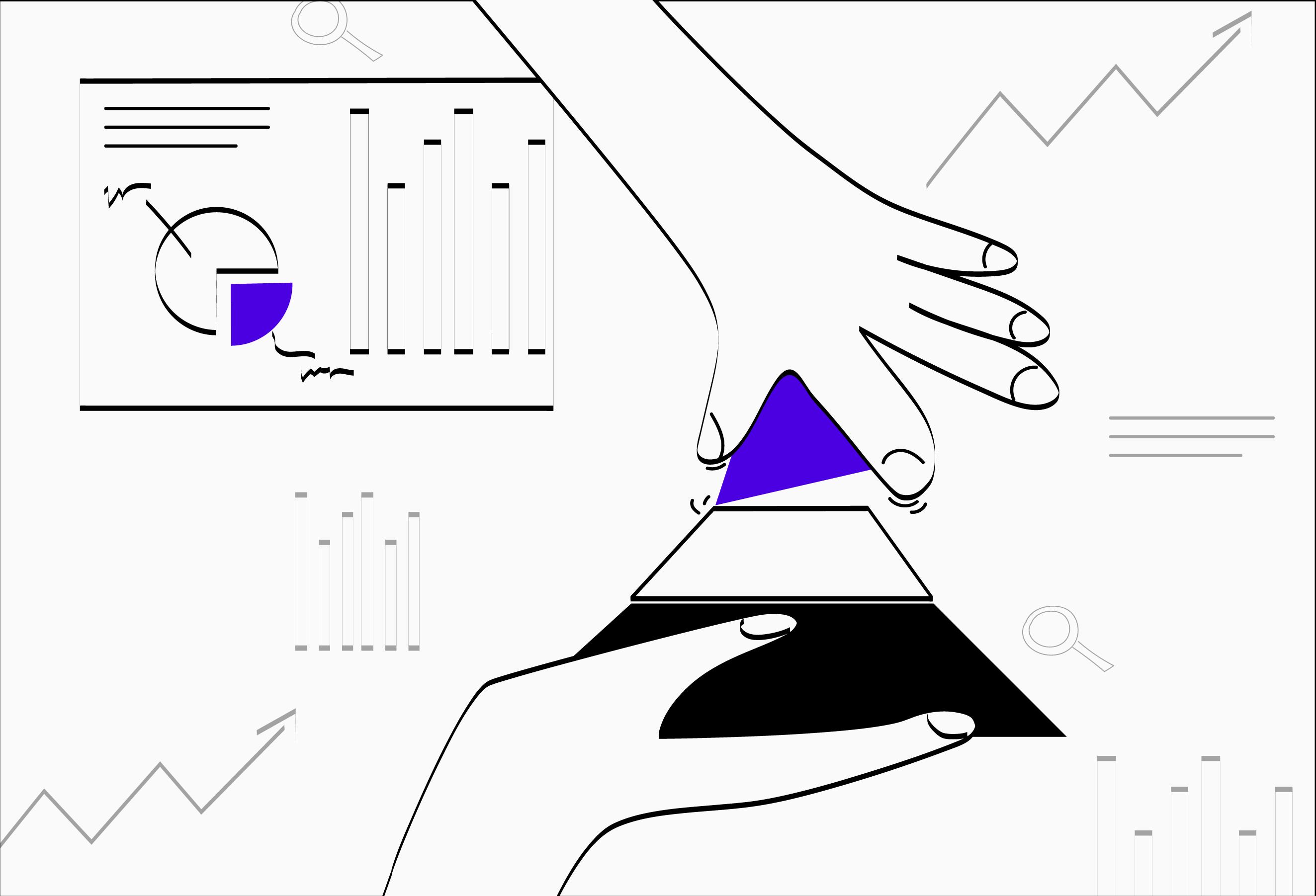 25. Piramida metrik - Пирамида метрик – подход, с помощью которого выбирают правильные метрики и определяют зависимости между ними